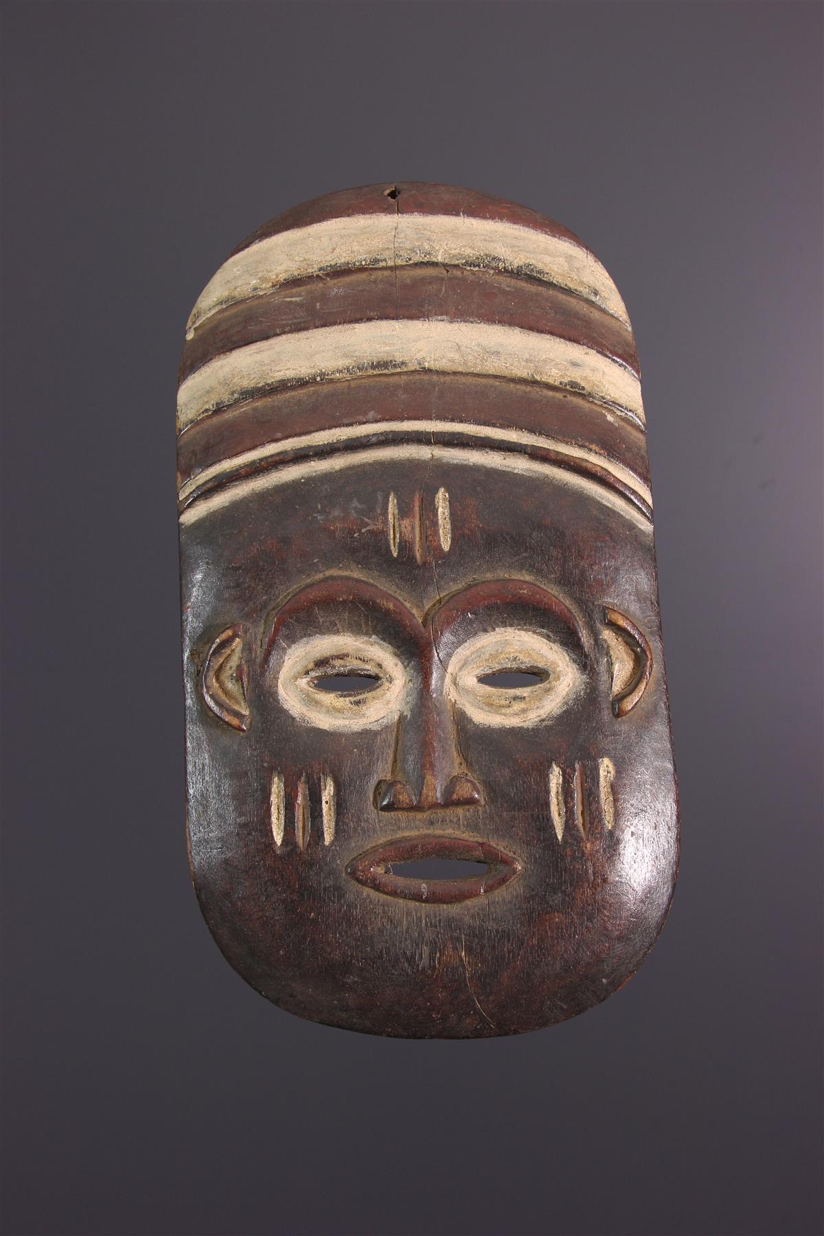 Lele masker - Afrikaanse kunst