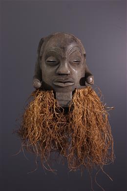 Afrikaanse kunst - Masker Luba Mukisi a kukaya