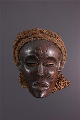 Vrouwen masker Chokwe Mwana pwo