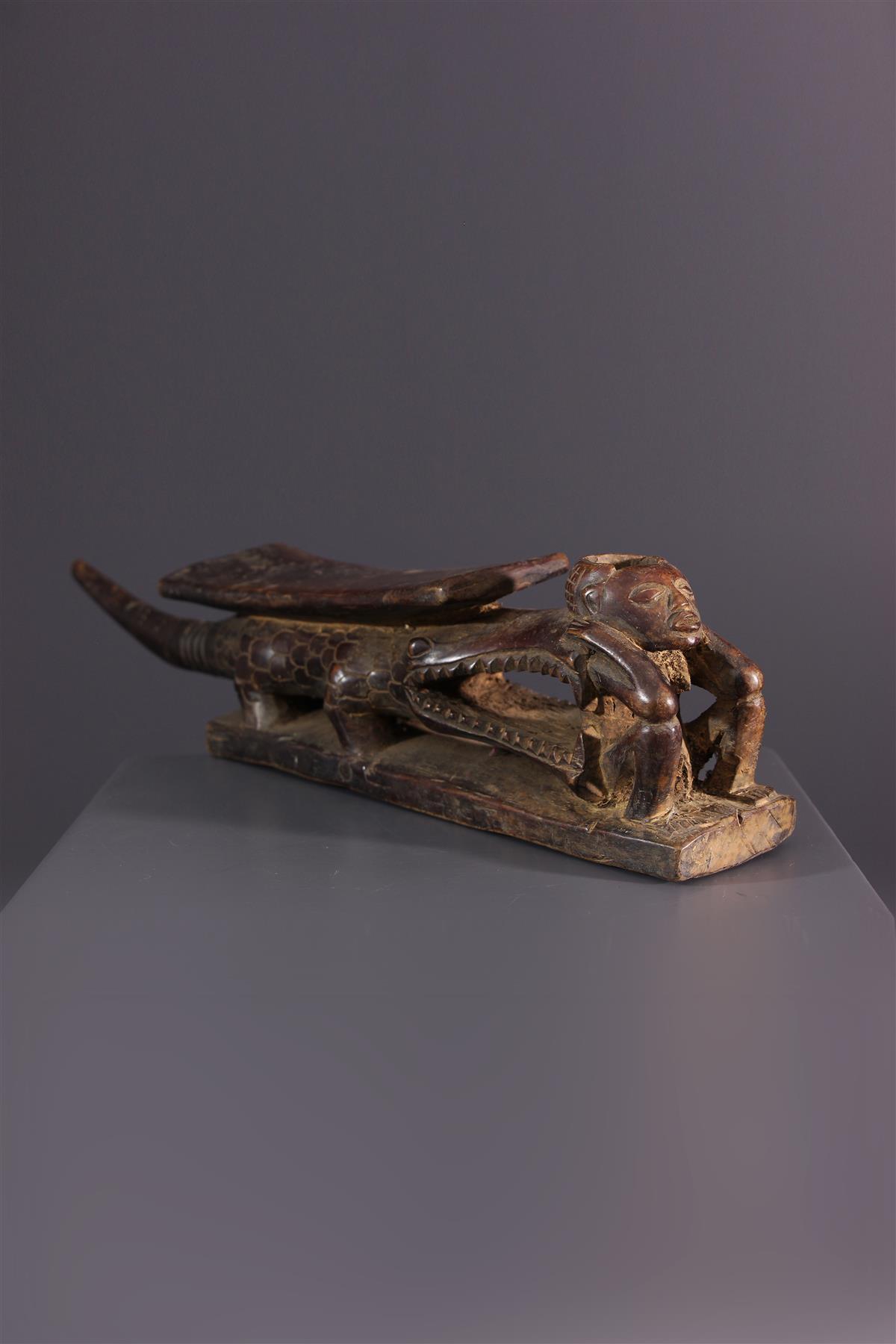 Tabwa pijp - Afrikaanse kunst