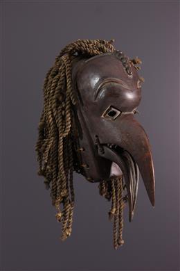 Afrikaanse kunst - Chokwe Dierenmasker