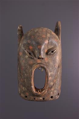 Luba / Zela zoomorf masker