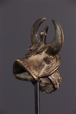 Afrikaanse kunst - Senoufo Koperen Zwijg Ring