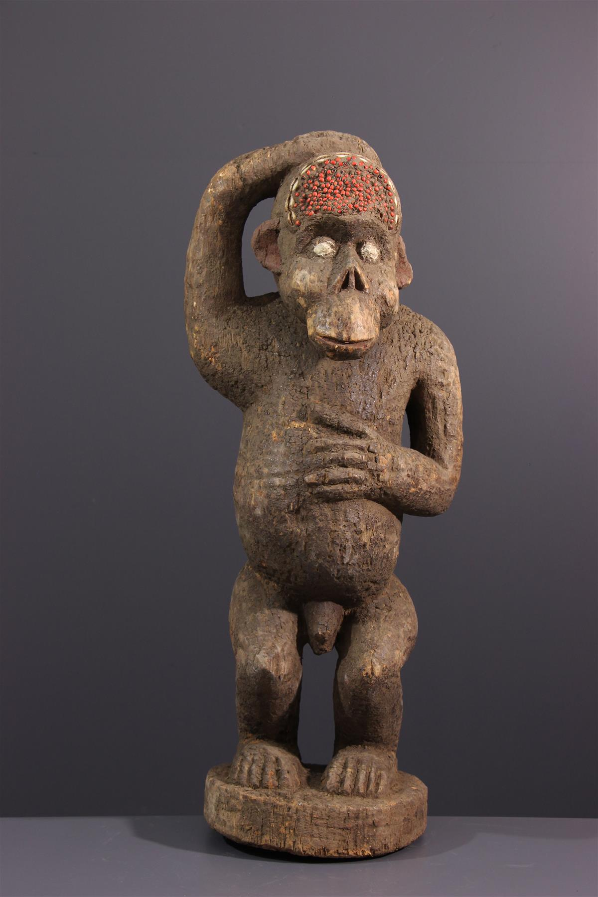 Boulou aap - Afrikaanse kunst