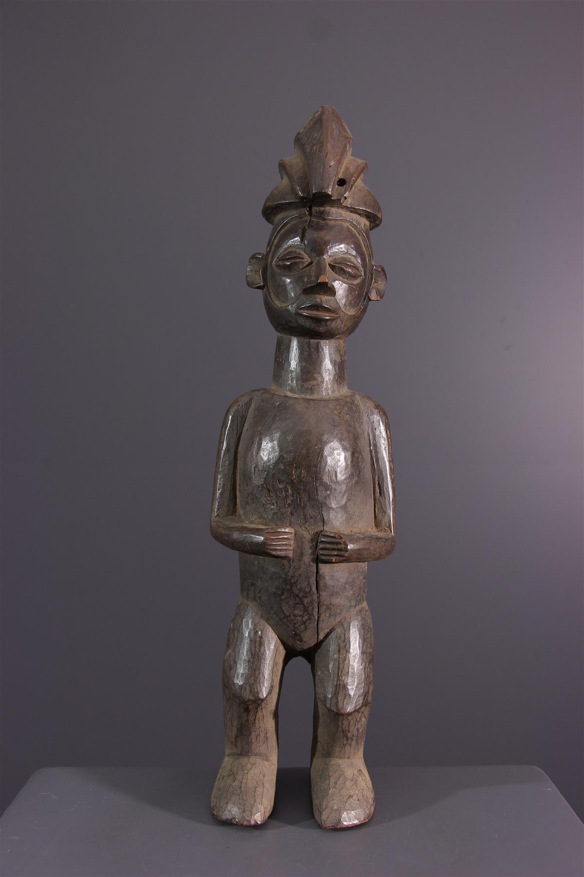 Yaka beeldje - Afrikaanse kunst
