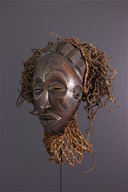 Afrikaanse kunst - Chokwe Mwana pwo Masker