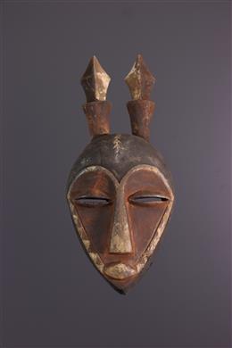 Afrikaanse kunst - Pende Inleidend Masker