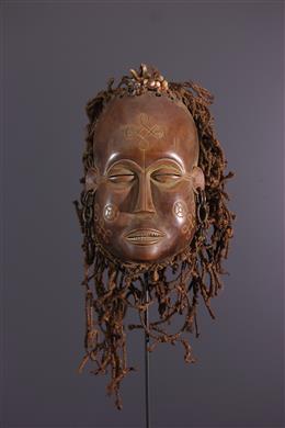 Masker Luvale, Lwena, Pwevo