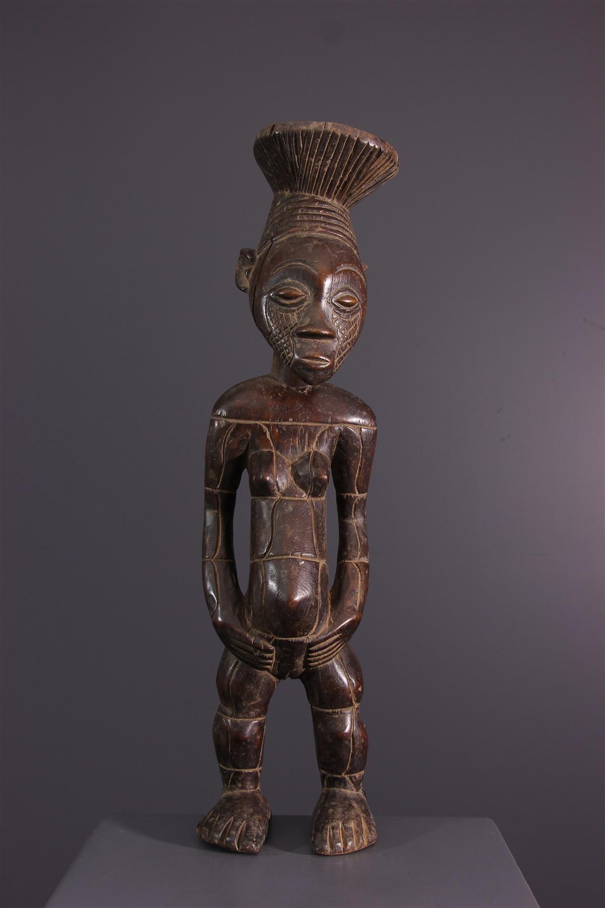 Standbeeld Mangbetu - Afrikaanse kunst