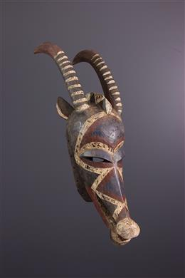 Afrikaanse kunst - Bobo Hippotrague helmmasker