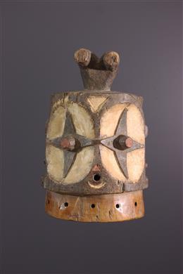 Afrikaanse kunst - Masque Bembe Echwaboga