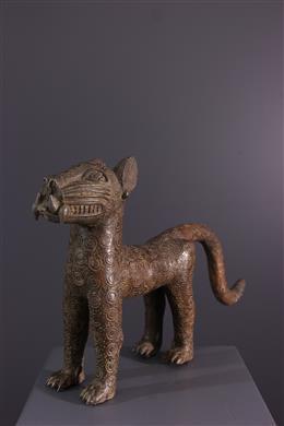 Afrikaanse kunst - Het cijfer Benin van de luipaard