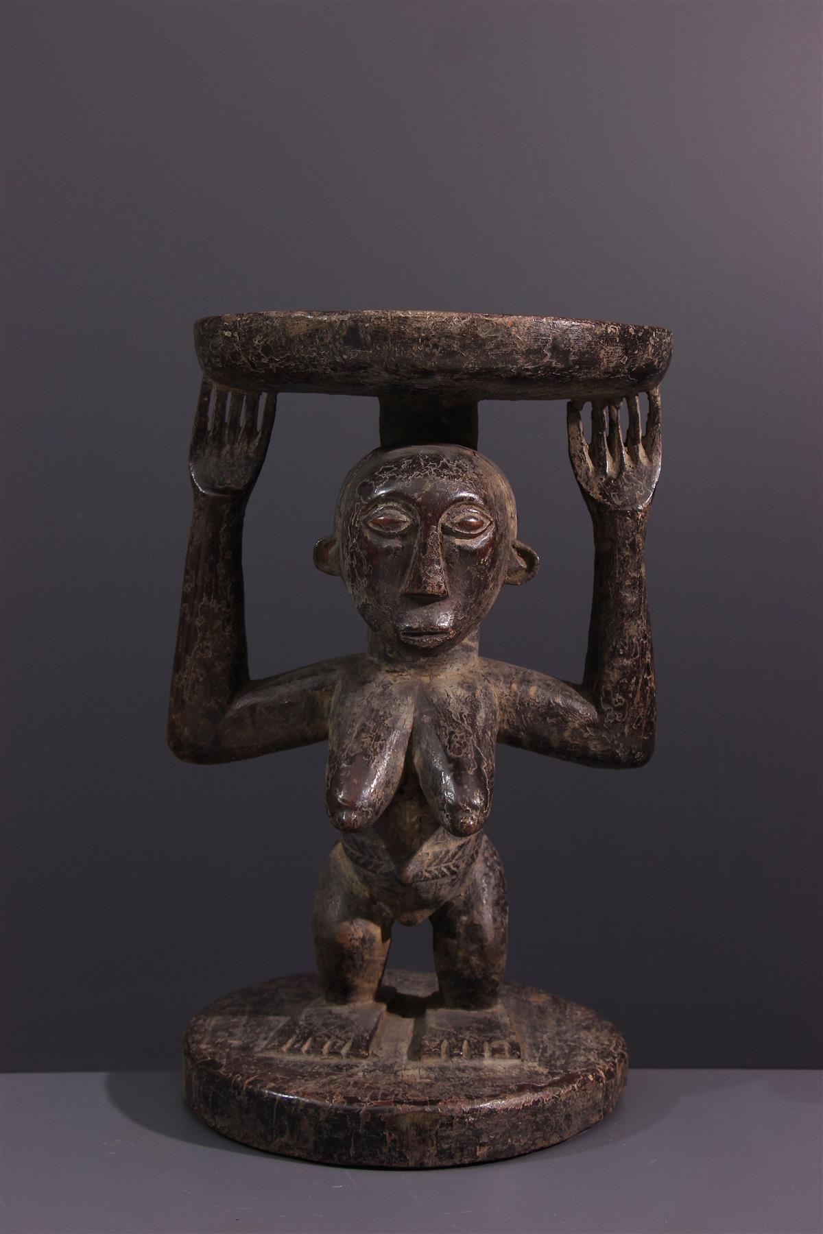 Hemba Stoel - Afrikaanse kunst