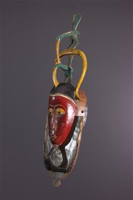 Zaouli Dance Gouro Masker