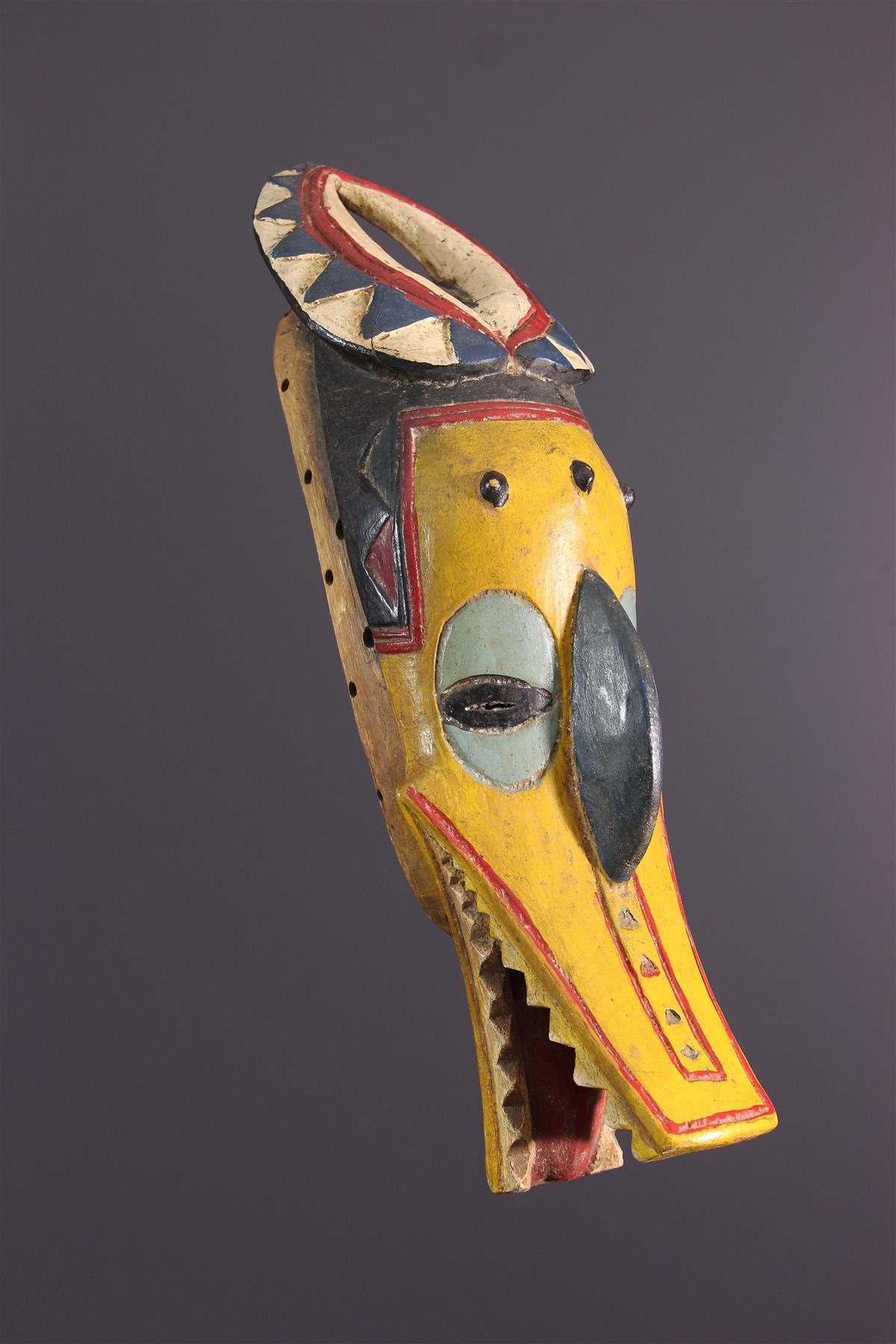 Zamble Masker - Afrikaanse kunst