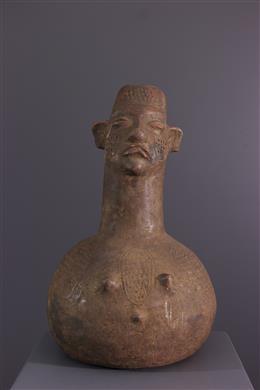 Afrikaanse kunst - Jarre Boa/Mangbetu