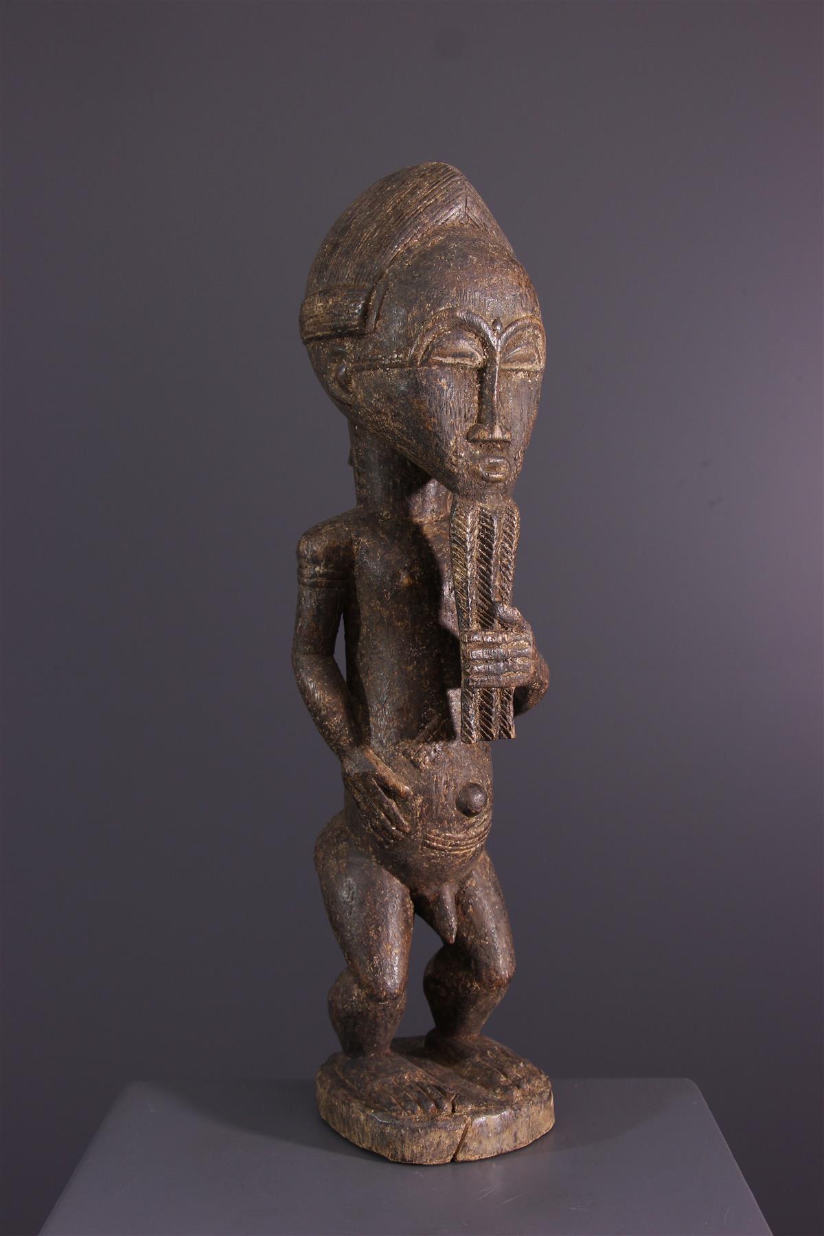 Standbeeld Baoulé - Afrikaanse kunst