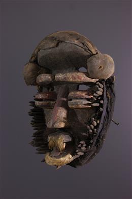 Afrikaanse kunst - Wé Guéré Masker
