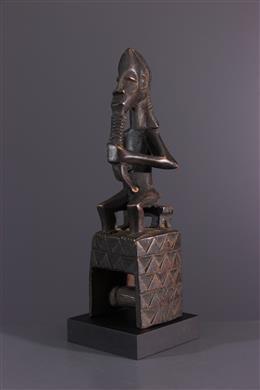 Afrikaanse kunst - Gouro, Guro, Kono weefgetouw katrol