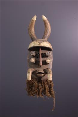 Afrikaanse kunst - Grebo / Kru masker