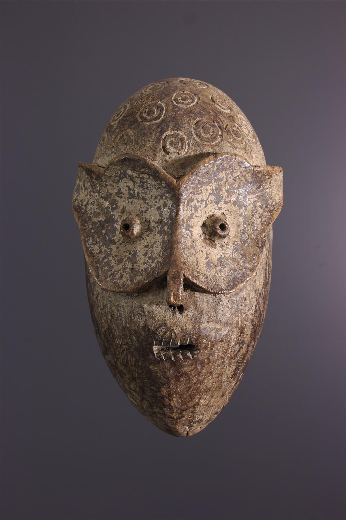 Bembe masker - Afrikaanse kunst