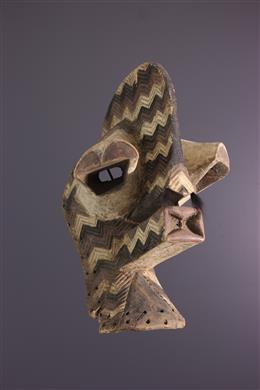 Afrikaanse kunst - Songye Kalebwe Masker