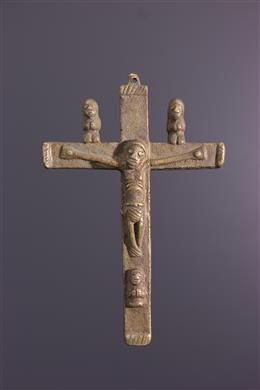Afrikaanse kunst - Kongo crucifix Nkangi Kiditu
