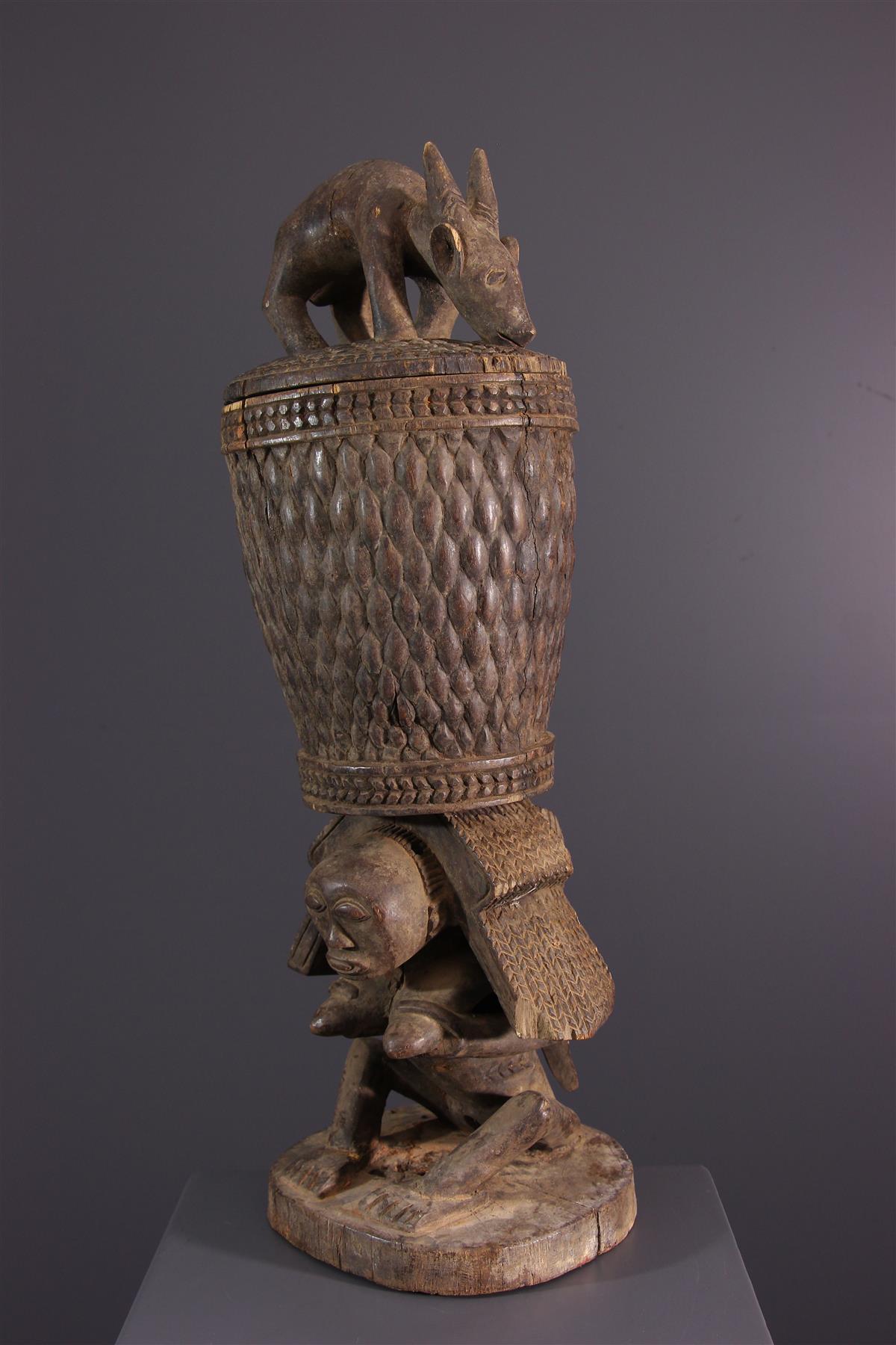 Luba beker - Afrikaanse kunst