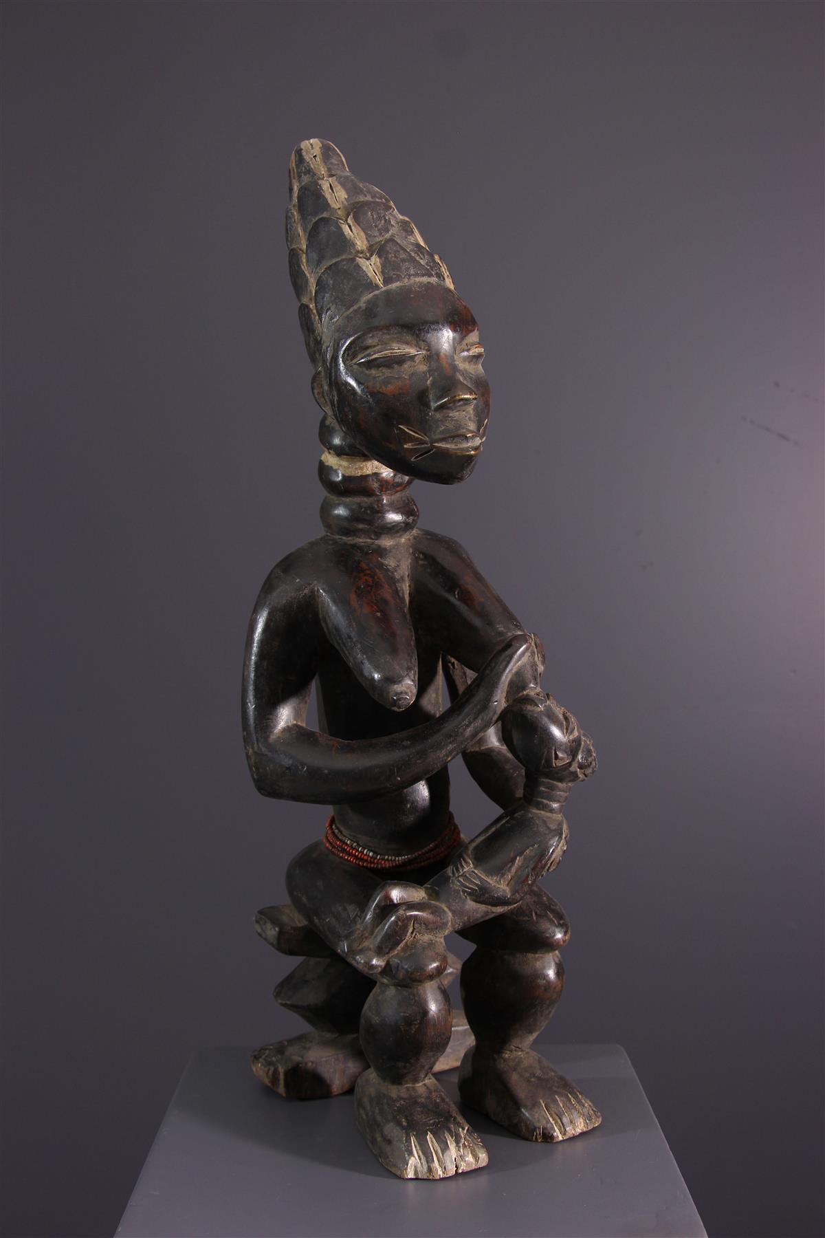 Standbeeld Kulango - Afrikaanse kunst
