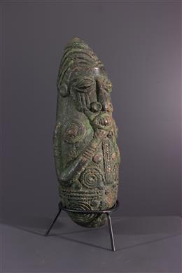 Bronzen buste Mambila