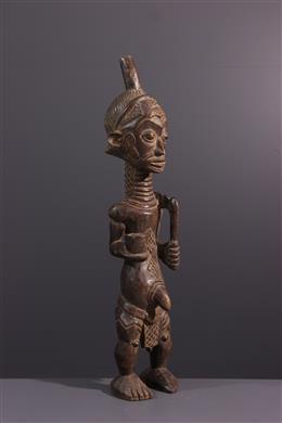 Afrikaanse kunst - Figuur mannelijke Lulua, Bena Luluwa