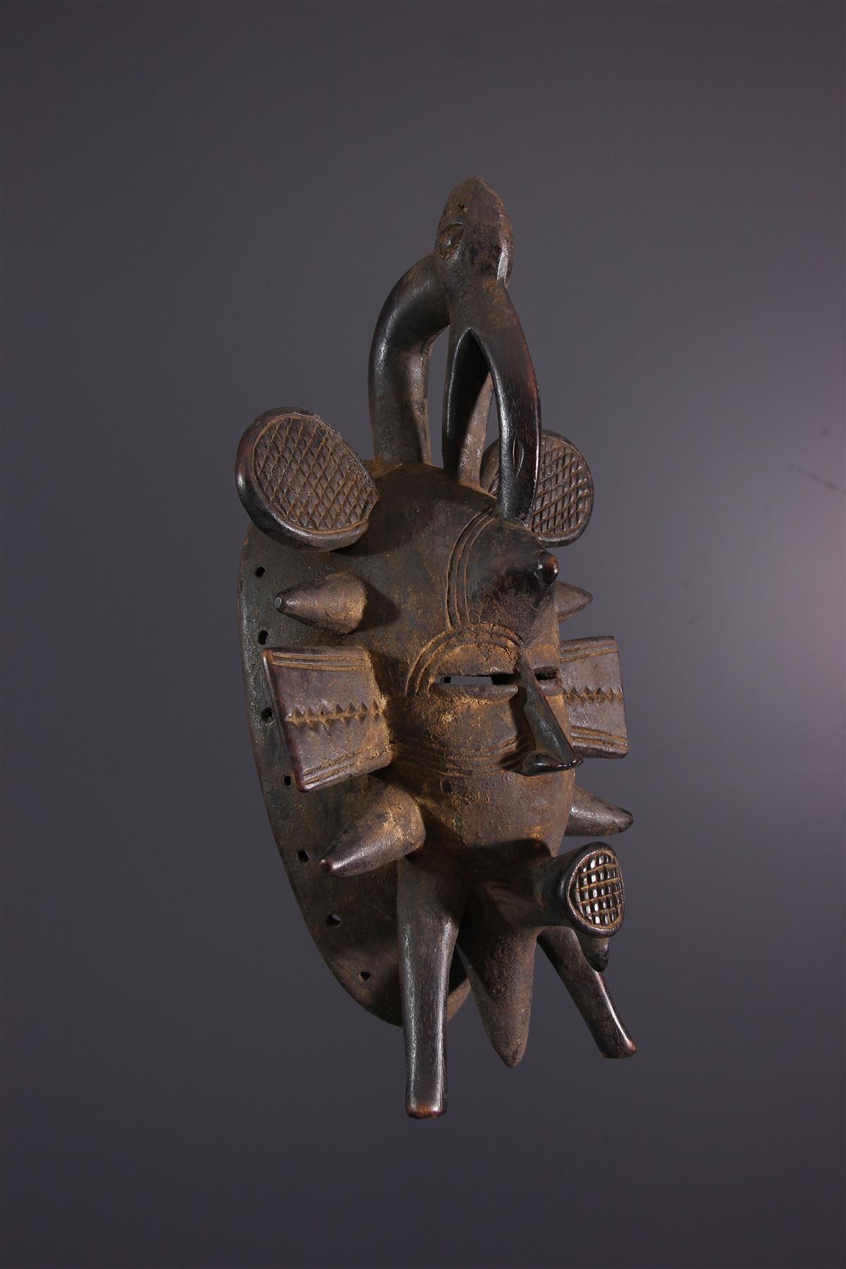 Het Masker van Sen - Afrikaanse kunst