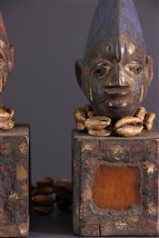 Statues africainesYoruba Beeldjes