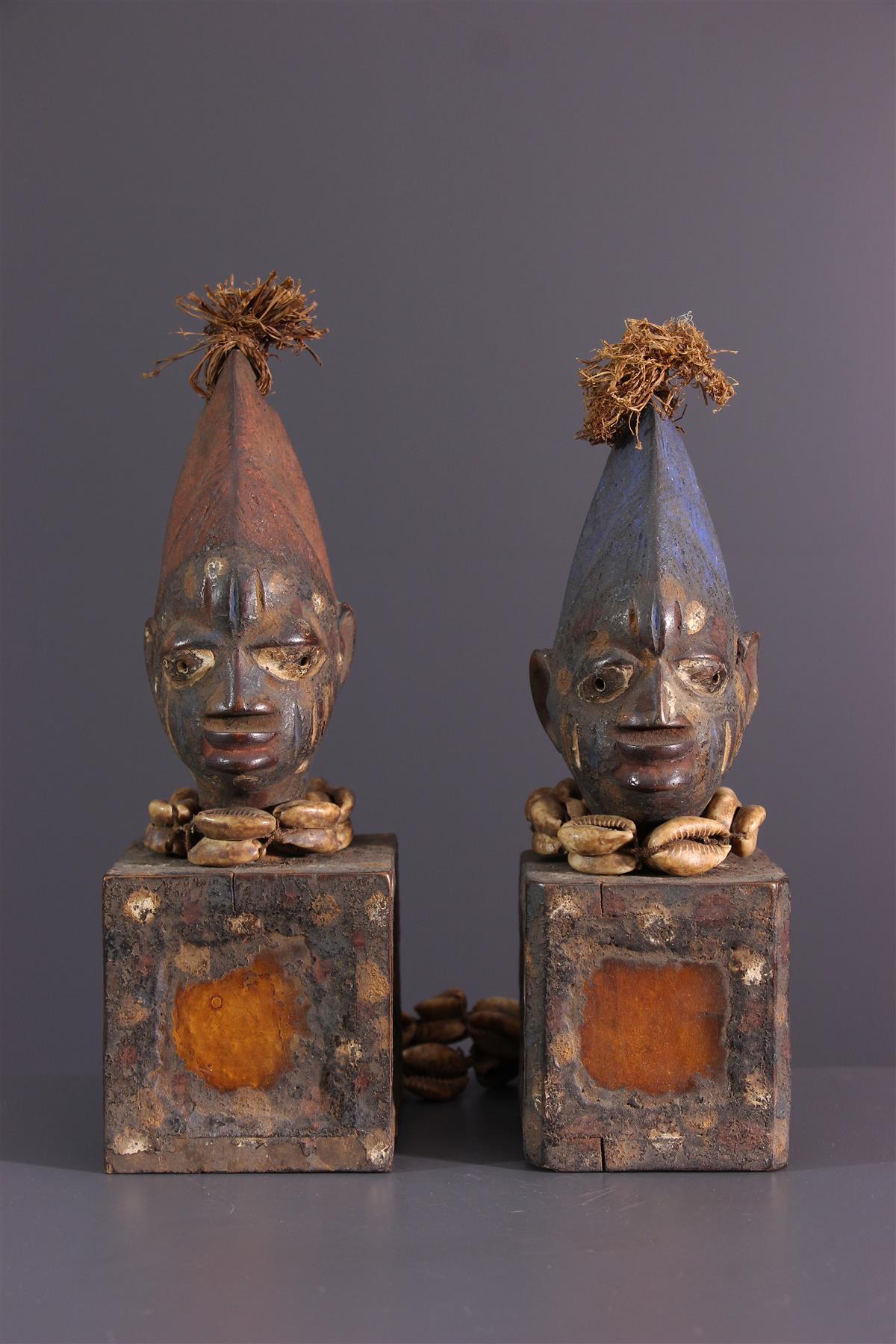 Yoruba Beeldjes - Afrikaanse kunst