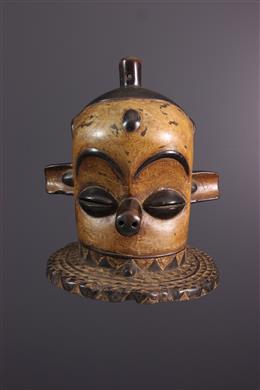 Afrikaanse kunst - Masque heaume Pende Kipoko