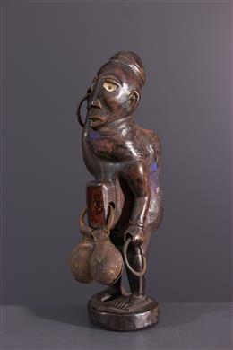 Kongo Nkisi fetisjbeeldje