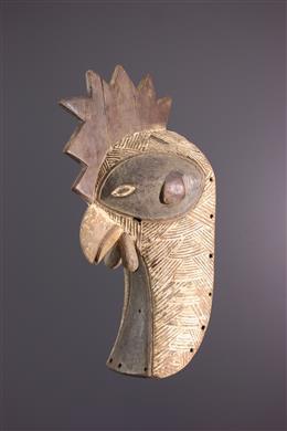 Afrikaanse kunst - Dierenmasker Luba Mukisi a kukaya