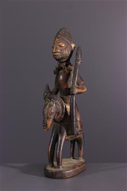 Yoruba figuur ruiter