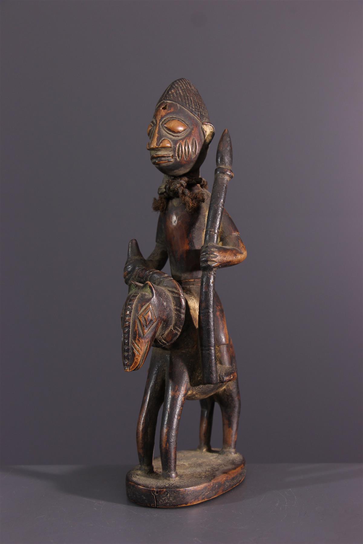 Yoruba ruiter  - Afrikaanse kunst
