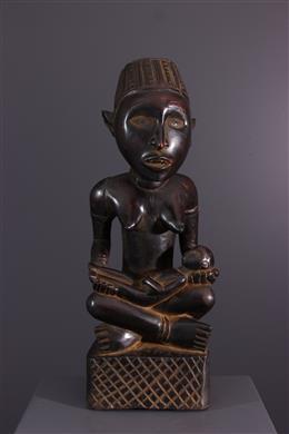 Afrikaanse kunst - Moederschapsfiguur Pfemba Kongo