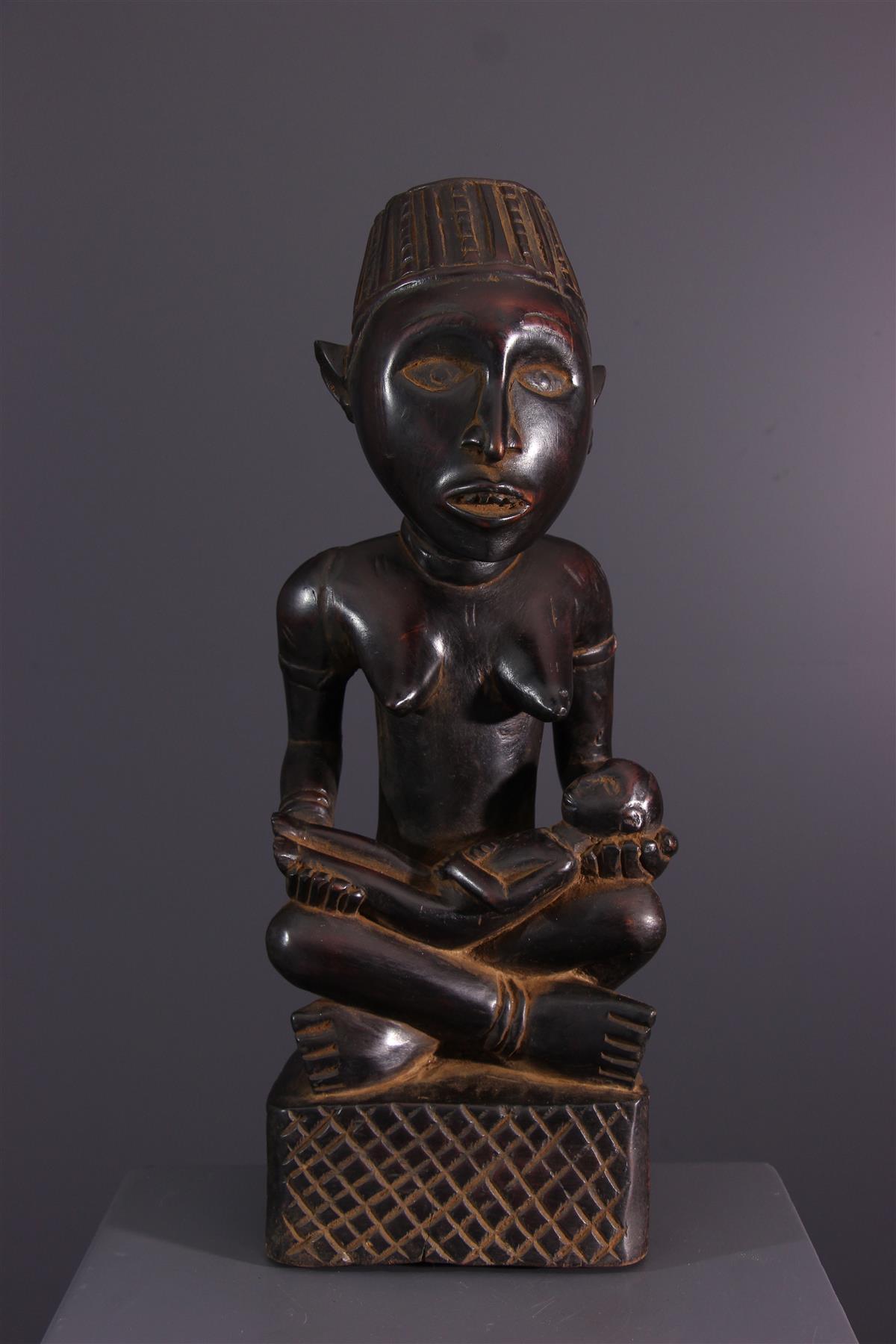 Kongo Moederschap - Afrikaanse kunst