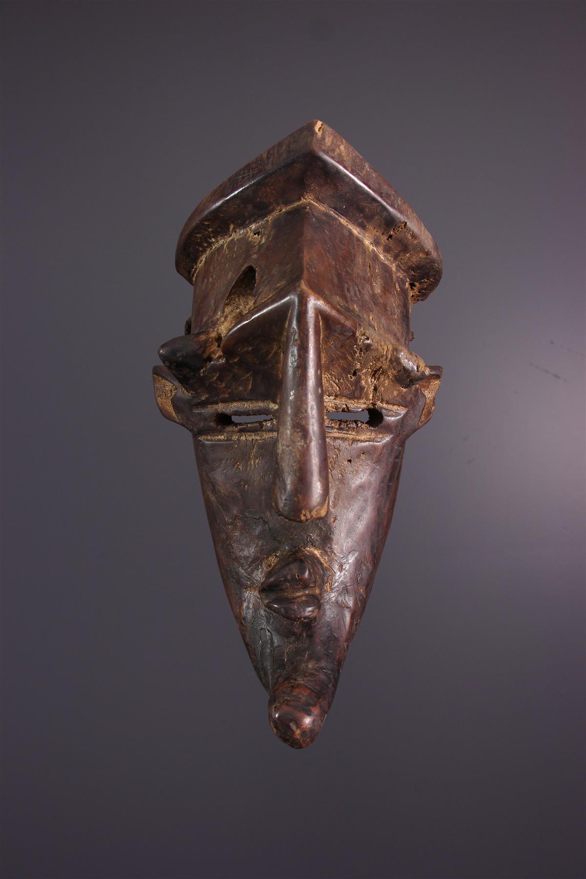 Lualua Masker - Afrikaanse kunst