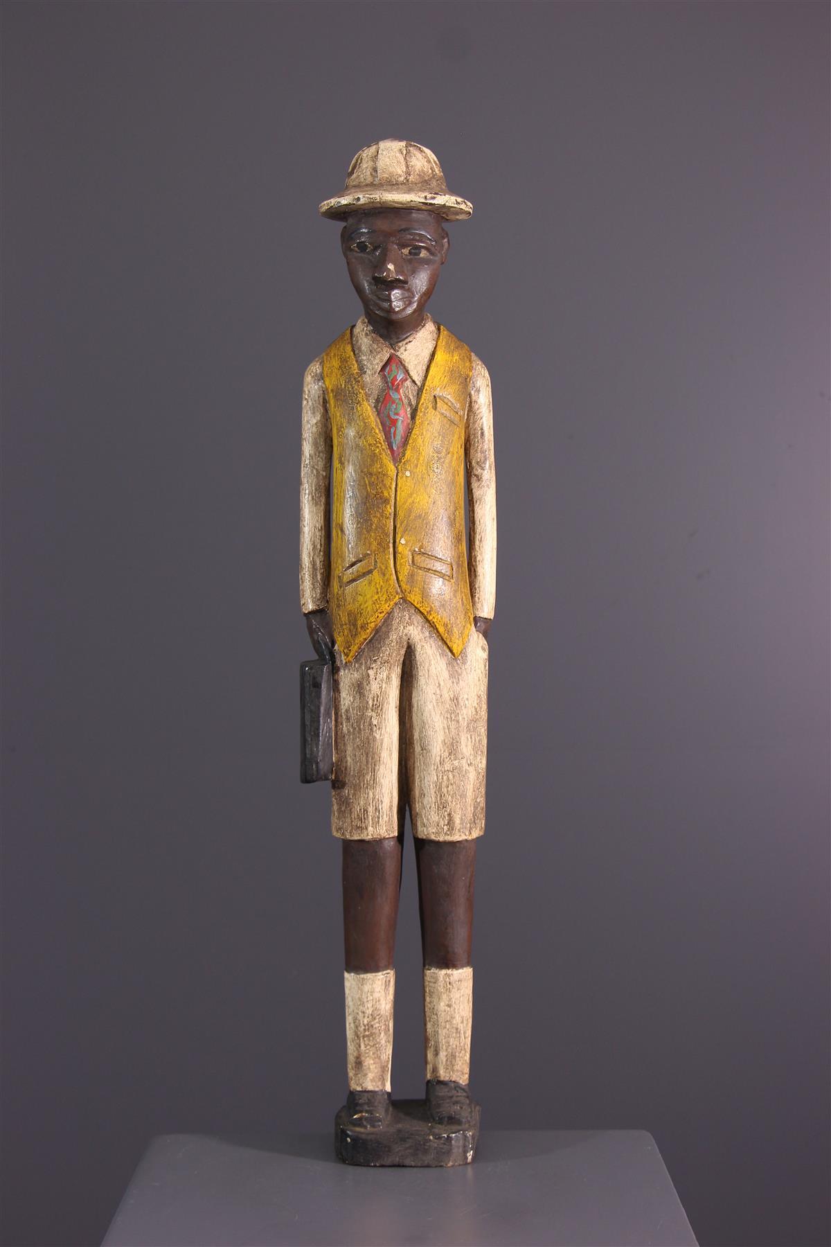 Standbeeld Baoule - Afrikaanse kunst