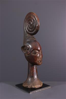 Miniatuur buste Ekoi Ejagham
