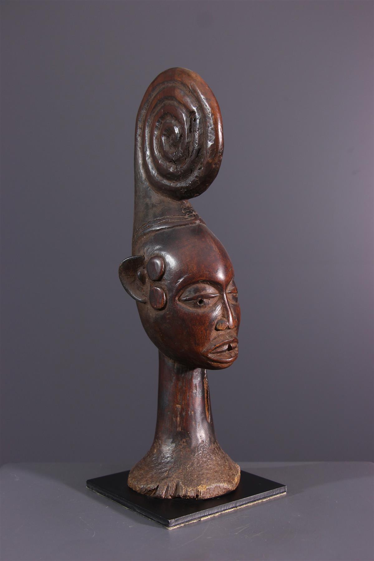 Beeldje Ekoi - Afrikaanse kunst