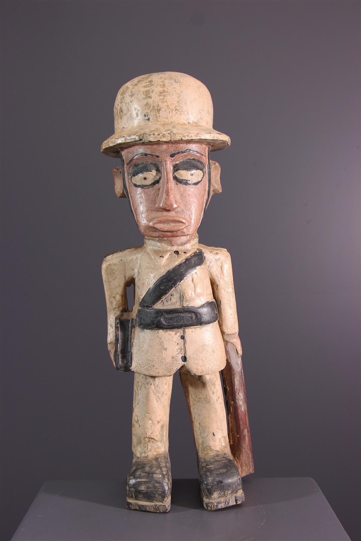 Standbeeld Colon - Afrikaanse kunst