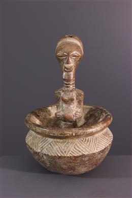 Afrikaanse kunst - Songye Divination Cup
