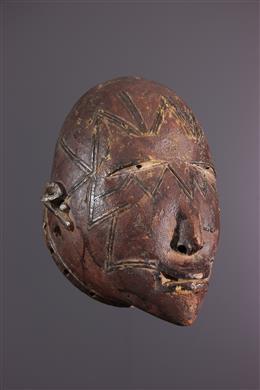 Afrikaanse kunst - Makonde Lipoko masker