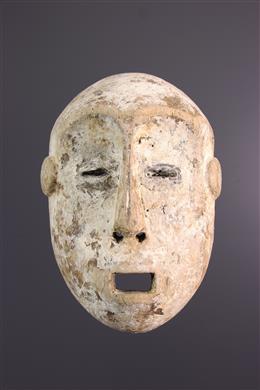 Afrikaanse kunst - Lega Idumu masker