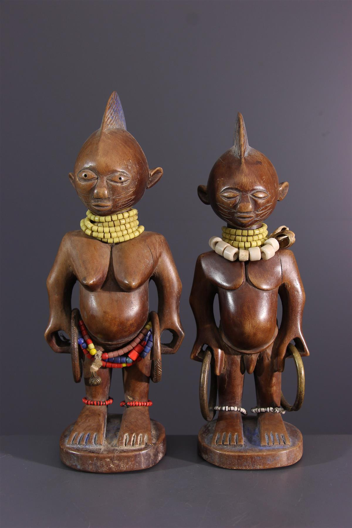 Yoruba tweelingen  - Afrikaanse kunst